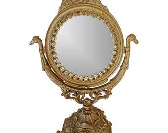 Victorian Table Swivel Mirror
