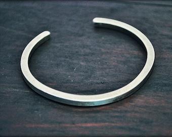 Laos Silver Cuff Bracelet - XXS