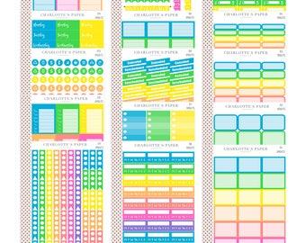 Planner Stickers / Functional Planner Stickers / Erin Condren Planner Stickers / Happy Planner Stickers / Traveler's Notebook / Sticker Sets