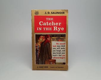 The Catcher in the Rye by J.D. Salinger 1963 Signet Books First Edition Paperback Book
