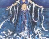 Moon Goddess Art Sorceres...