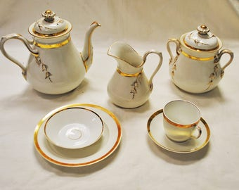 Antique Charles Field Haviland Limoges China Set 36 Pieces