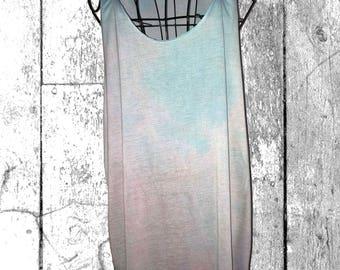 Candy Floss Beach Dress (XL)