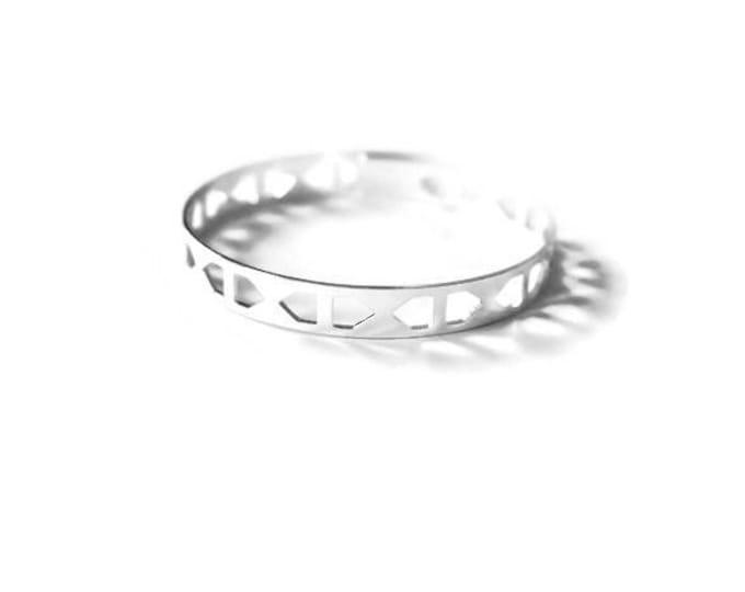 Silvery Metal Kalaw bracelet