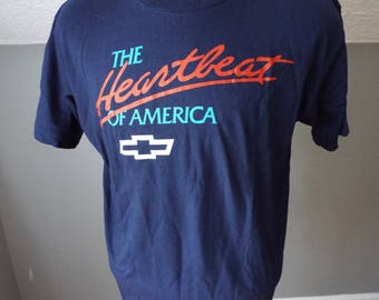 Vintage Chevrolet T Shirt by Fruit of the Loom
