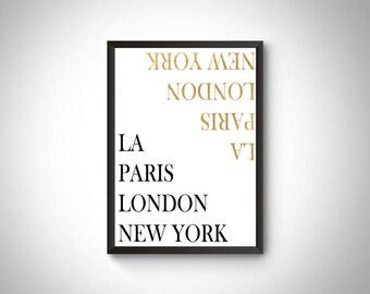 Travel digital art, world cities poster, travel printable art, travel decor, wall art printable,wall art world cities,gift for travel lover