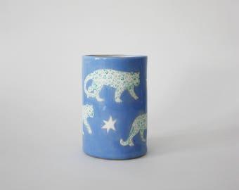 Leopards Vase