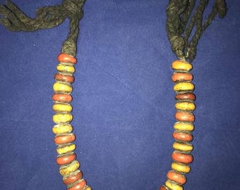Huge Rare Moroccan Amber Copal Necklace