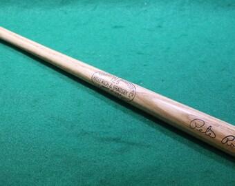"Vintage Hillerich & Bradsby Louisville Slugger  125 signed Pete Rose wood 16"" souvenir baseball  bat"