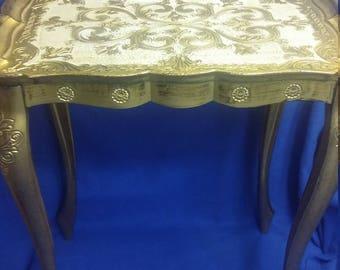 Vintage Florentine Table