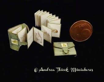 Vintage Miniature Book - 1/12  - Beatrix Potter - A Fierce Bad Rabbit