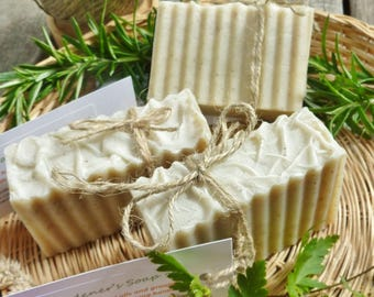 Herbal Gardeners Soap with pumice