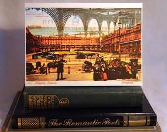 Sussex Greeting Cards, 5 different Scenes to pick from, Glynde Village, Brighton Seafront, Palace Pier, Regency Square & Brighton Pavilion.