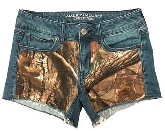 Hunting Camo AP Realtree Shorts