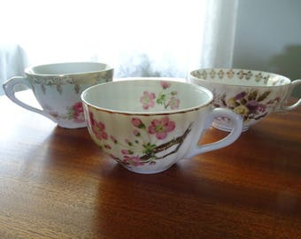 China Tea Cups Set of Three