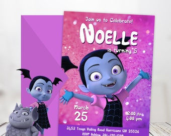 Nice Vampirina Birthday Invitation Instant Download, Personalized Vampirina  Invite, Vampirina Invitation Girl Birthday Party Vampirina