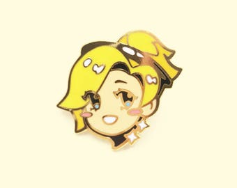 Mercy Enamel Pin