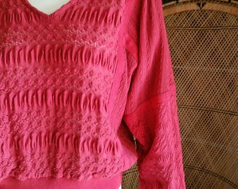 Rose pink sweater | Etsy