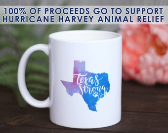 Texas Strong / Hurricane Harvey / Texas / hurricane relief / hurricane / harvey / texas shirt / houston / donate / houston strong / dog