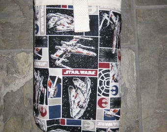 Star Wars Print Diaper Clutch