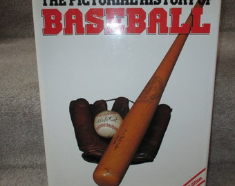 first edition The Pictorial History of Baseball sports book