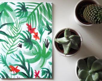 A5 Notebook | Tropical Print