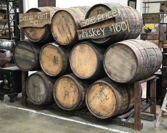 used/retired WHISKEY & WINE Barrels