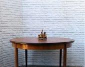Vintage G Plan Fresco Circular Extending Dining Table 1960s Retro Mid Century