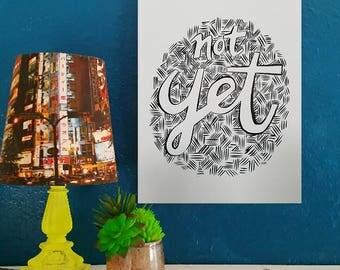 Not Yet - Artist Print