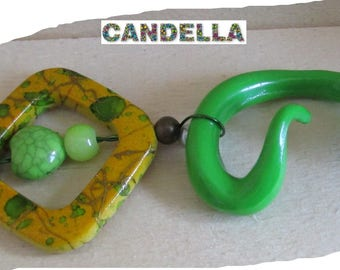 Dollhouse accessory table marks places toy original customizable Green Snake