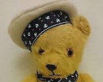Pedrigree, antique, vintage 1950s original mohair bear.