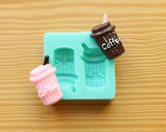 Mini Coffee Cup Silicone Mold