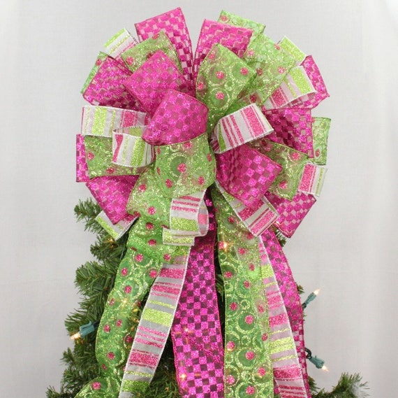 il_570xn - Hot Pink Christmas Tree