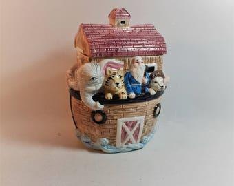 Ceramic Noah's Ark Cookie Jar