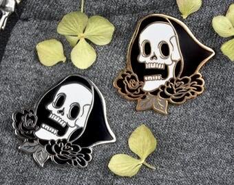 JOLLY REAPER Death Hard Enamel Pin