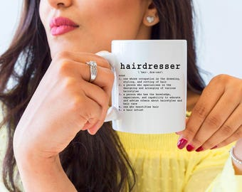 Hairdresser Gifts, Hairdresser Mugs, Hairdresser Definition, Hairdresser Coffee Mug, Hairstylist Mugs, Hairdresser Quotes, Hairstylist Quote