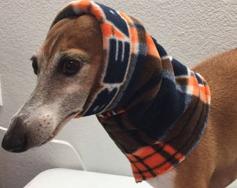 NFL Team Fleece Chicago Bears Hoodie for Italian Greyhounds - Size Medium