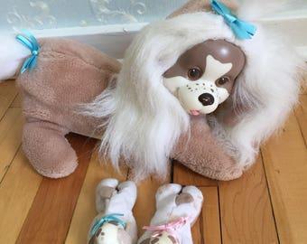 Vintage 1990s Puppy Surprise Stuffed Plush Dog!