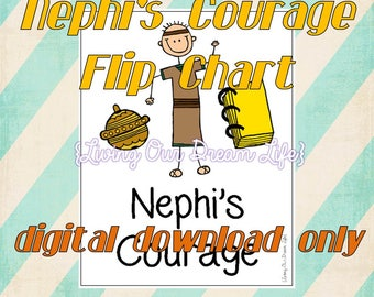 Nephi's Courage Primary Song #120 FLIPCHART