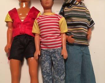 Ken Doll USA Lot