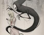 creeping death - fine art print - 8x10