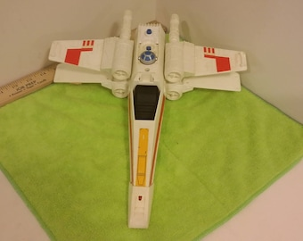 Vintage Star Wars Empire Strikes Back X-Wing Fighter by Kenner, 1978#