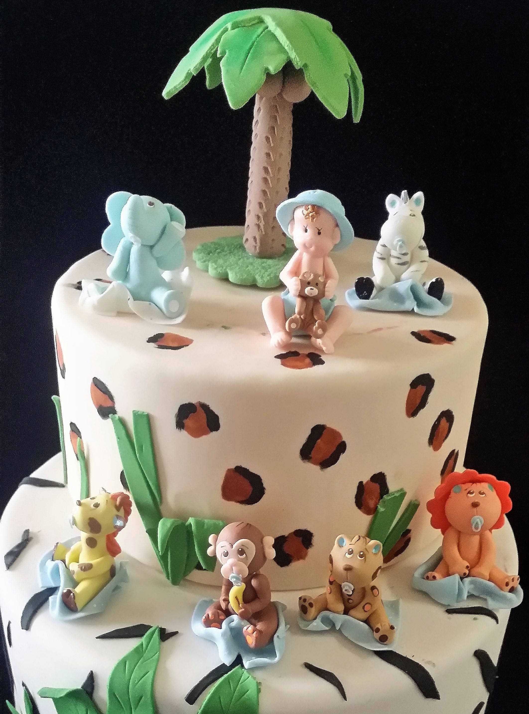 Jungle Animal Cake Toppers Nz