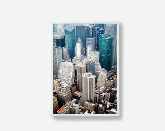 Photography Print, New York Print, New York, From Above, Travel Art, NY Photography, Home Decor, Wall Art, Wall Decoration, Fine Art Print