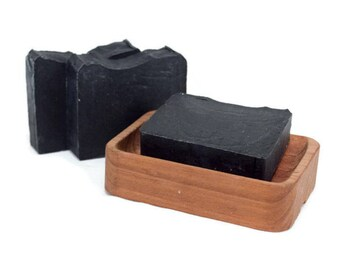 Activated Charcoal Soap - All Natural Soap - Handmade Soap - Cold Process Soap - Vegan soap - Facial soap - Artisan Soap - Handcrafted Soap