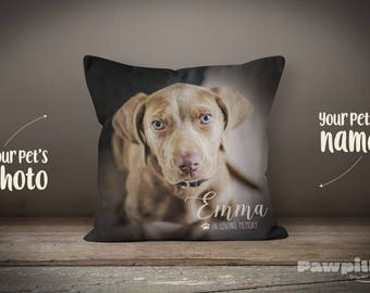 Pet Memorial, Custom Pet Pillow, Custom Dog Pillow, Pet Loss Gift, Pet Pillow, Photo Pillow, Custom Pet Memorial, Pet Keepsake, Dog Memorial