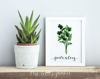 Fresh Herbs Art Prints