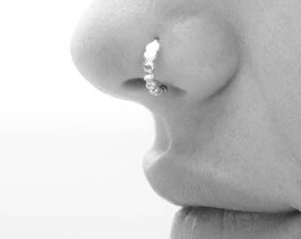 Nose Piercing, Nose Ring, Tribal Nose Ring, Silver Nose Hoop, Gold Nose Ring, Silver Nose Ring, Ethnic Nose Ring, Indian Nose Piercing