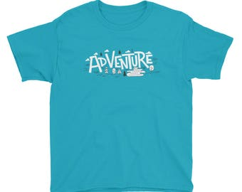 Adventure Drawing Youth T-Shirt