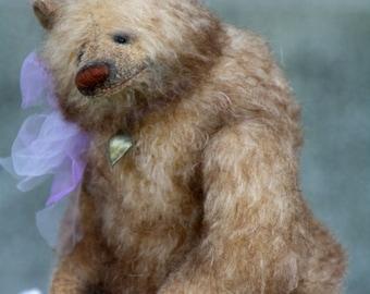 SOLD OUT!!!!!Ulrik 24 cm   animals-stuffed- bear-interior toy-personalized teddy bear mohair- ooak-authors teddy bear